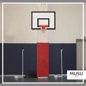 Basketbol Potası Duvara Montaj Antrenman Yükseklik Ayarlı Ön Koruyuculu